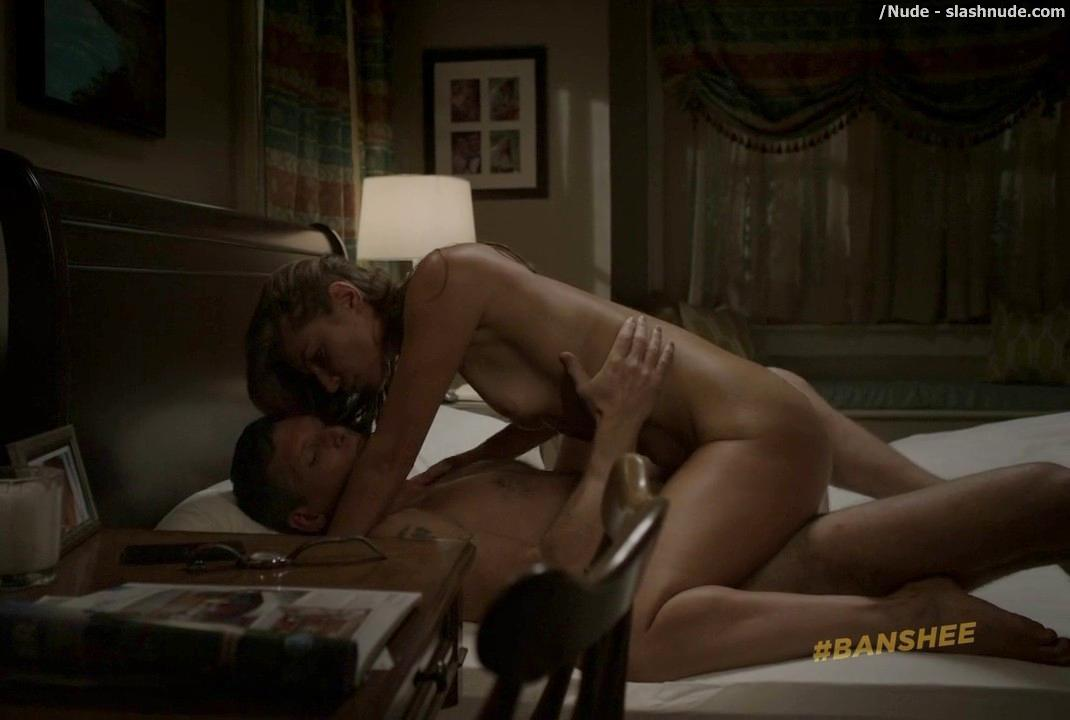 Ivana Milicevic Nude On Top In Banshee Sex Scene 15