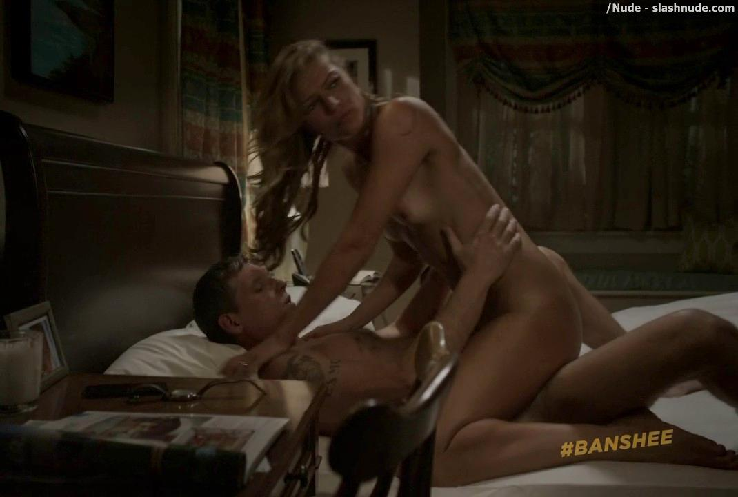 Ivana Milicevic Nude On Top In Banshee Sex Scene 17