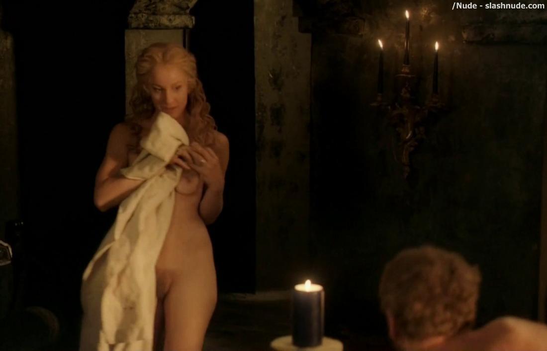 Laura haddock full frontal nudity bush da vincis demons 2013