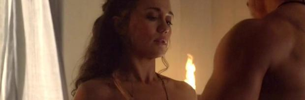 jenna lind topless on spartacus blood and sand 1307
