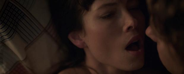 jessica biel topless for a glimpse in the sinner 5387