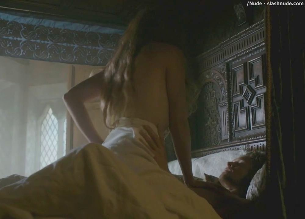Jodie Comer Topless In The White Princess Sex Scene 12