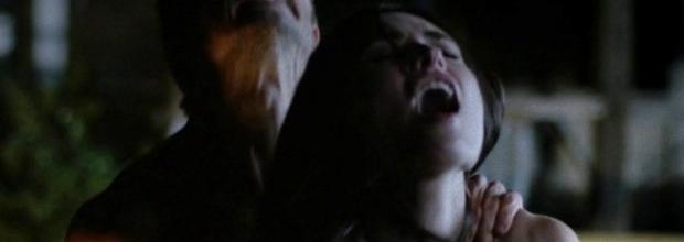 karolina wydra topless on hood of car on true blood 0652