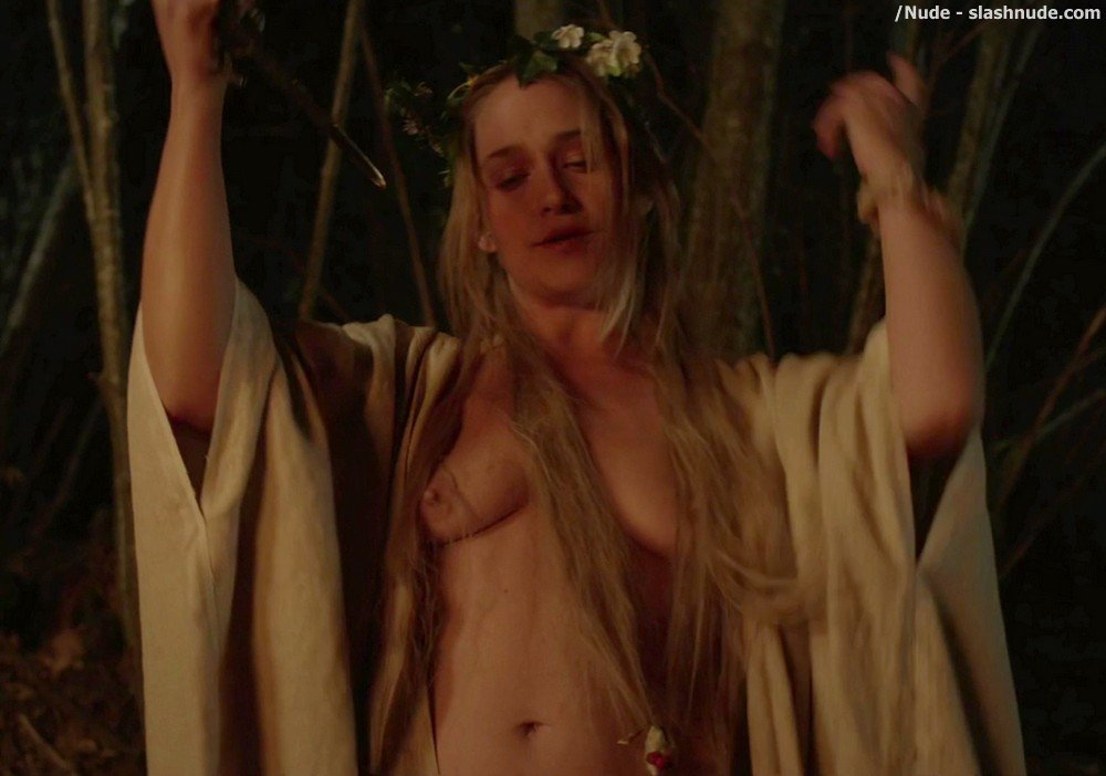 Kate Micucci Jemima Kirke Aubrey Plaza Topless In Little Hours 15