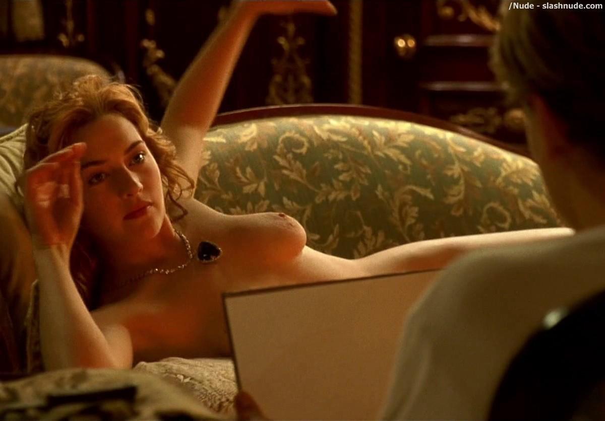 Between speaking, Titanic nude scene porn