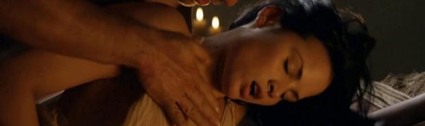 katrina law topless because she wont go quietly on spartacus 0661