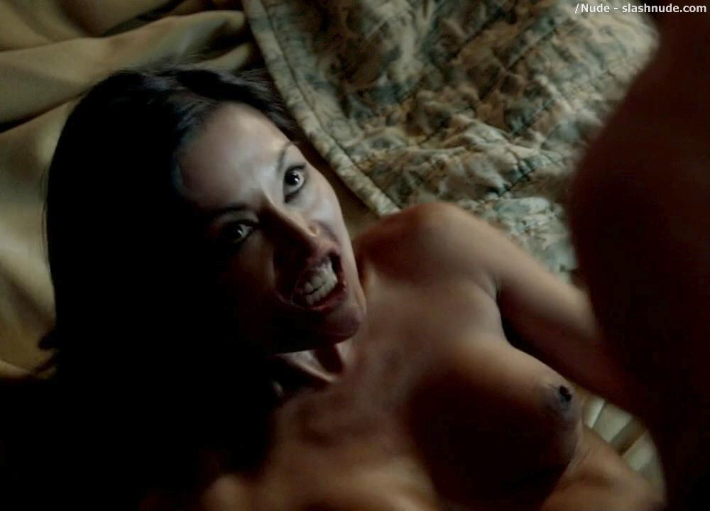 Kira Clavell Nude And Full Frontal On Rogue 1