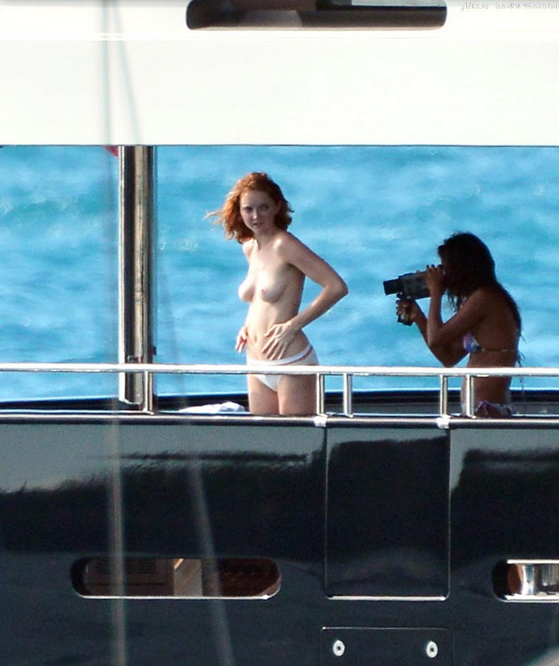 Very Lily cole naked think, what