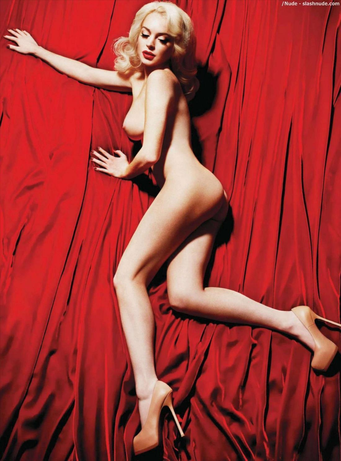 Lindsay lohan nude as marilyn monroe