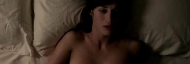 lizzy caplan topless for pillow talk on masters of sex 5890