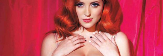 lucy collett topless because no lingerie can hold those boobs 5267