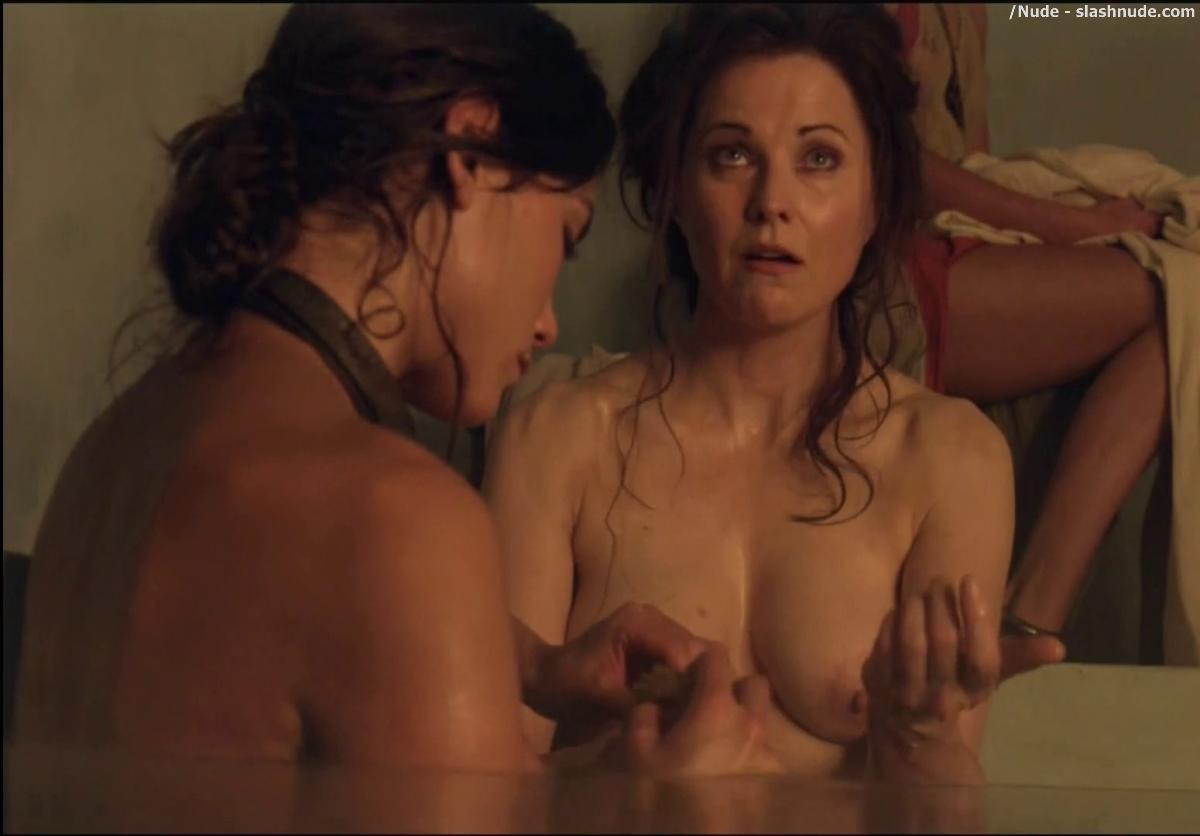 Lucy lawless breast feeding