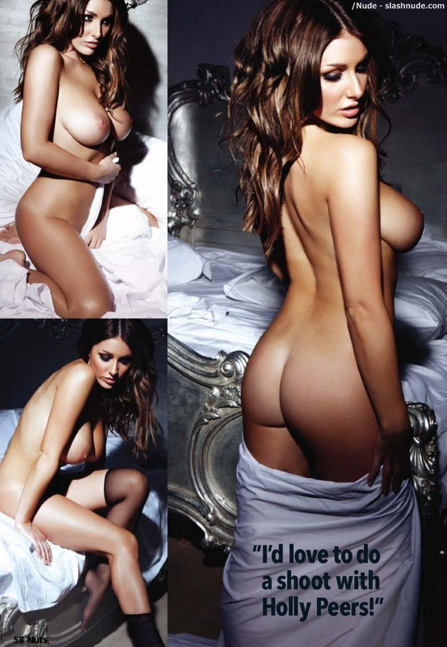 Lucy Pinder Nude In Bed For The Weekend 4