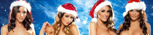 lucy pinder rosie jones, holly peers india reynolds topless for christmas 5348