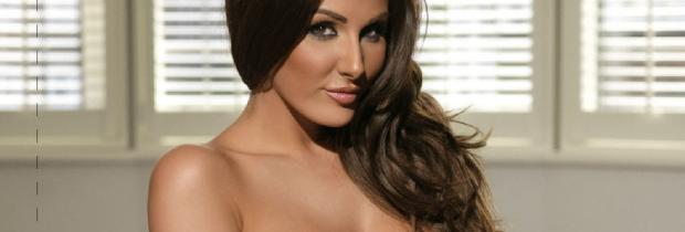 lucy pinder topless because she got good boob genes 3956