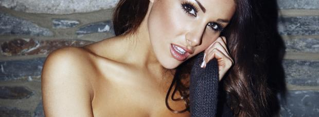 lucy pinder topless pair puts the 2 in her 2012 calendar 9356
