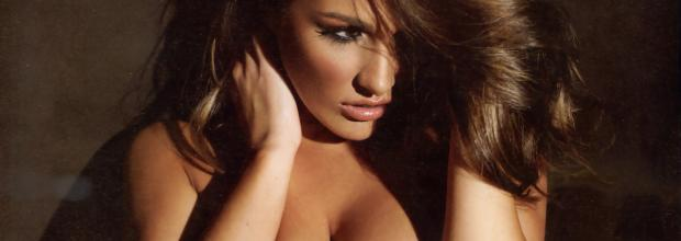 lucy pinder topless to put the squeeze on her breasts 6989