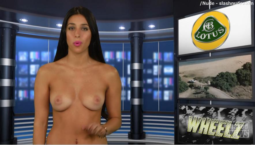 Christine naked news apologise, but