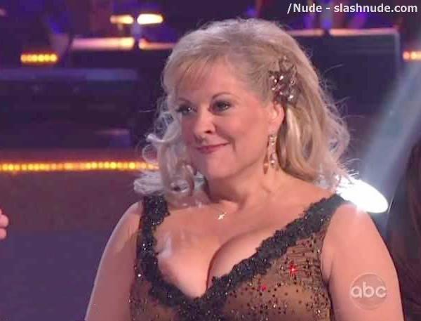 Boob pops out on dancing with the stars