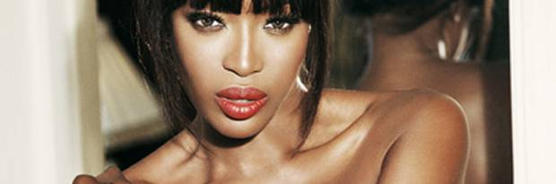 naomi campbell topless in boots for italian vanity 1219