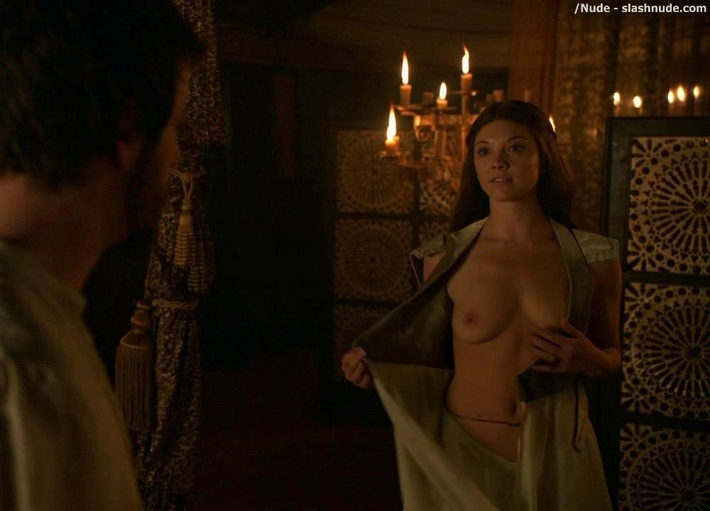 Natalie Dormer Topless On Game Of Thrones 3