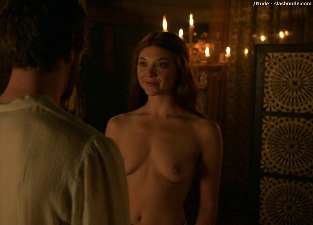 Natalie Dormer Topless On Game Of Thrones 7