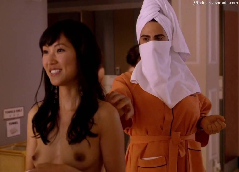 Natalie Kim Nude At Spa With Girlfriends Not So Boring 6