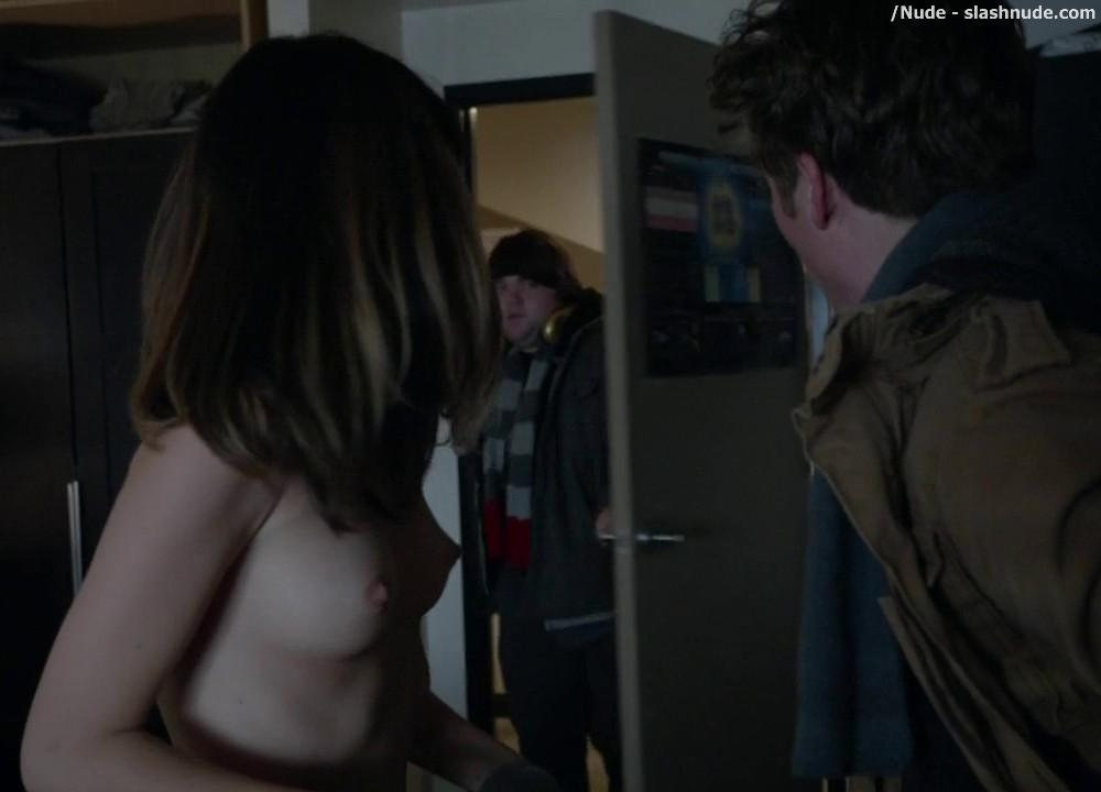 Nichole Bloom Topless Before Class On Shameless 13