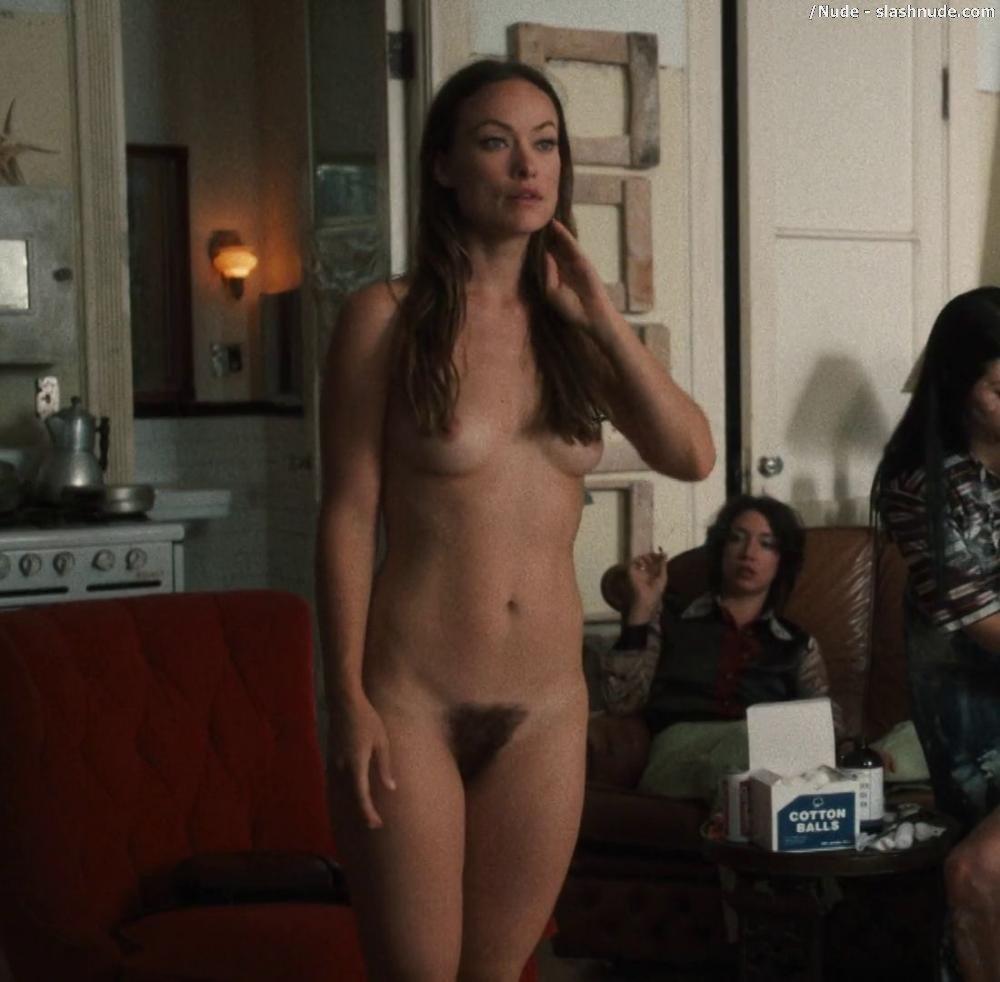 Olivia Wilde Nude Full Frontal In Vinyl 6