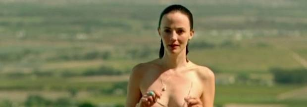 orla o rourke topless doesnt need a towel after swim 2395