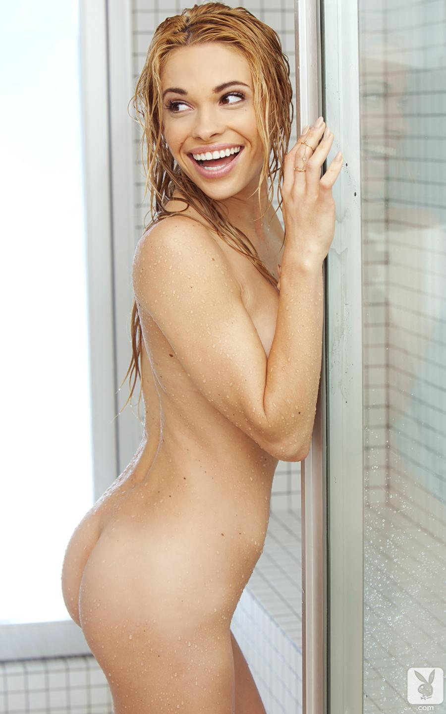 Playmate Of The Year Dani Mathers Nude Full Frontal In Shower 24