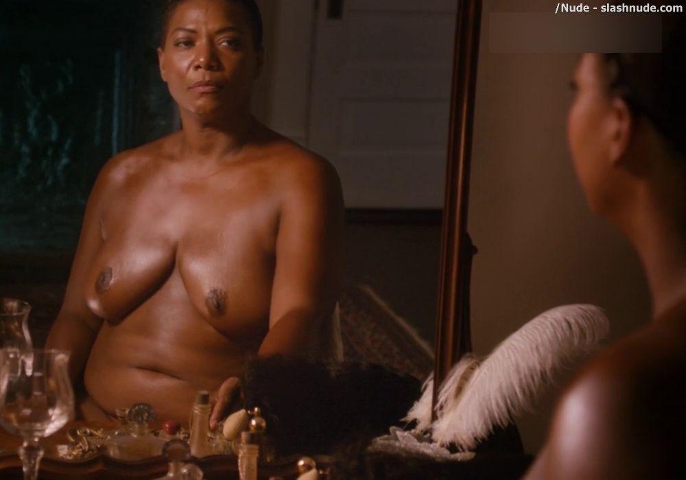 queen latifah nude Naked