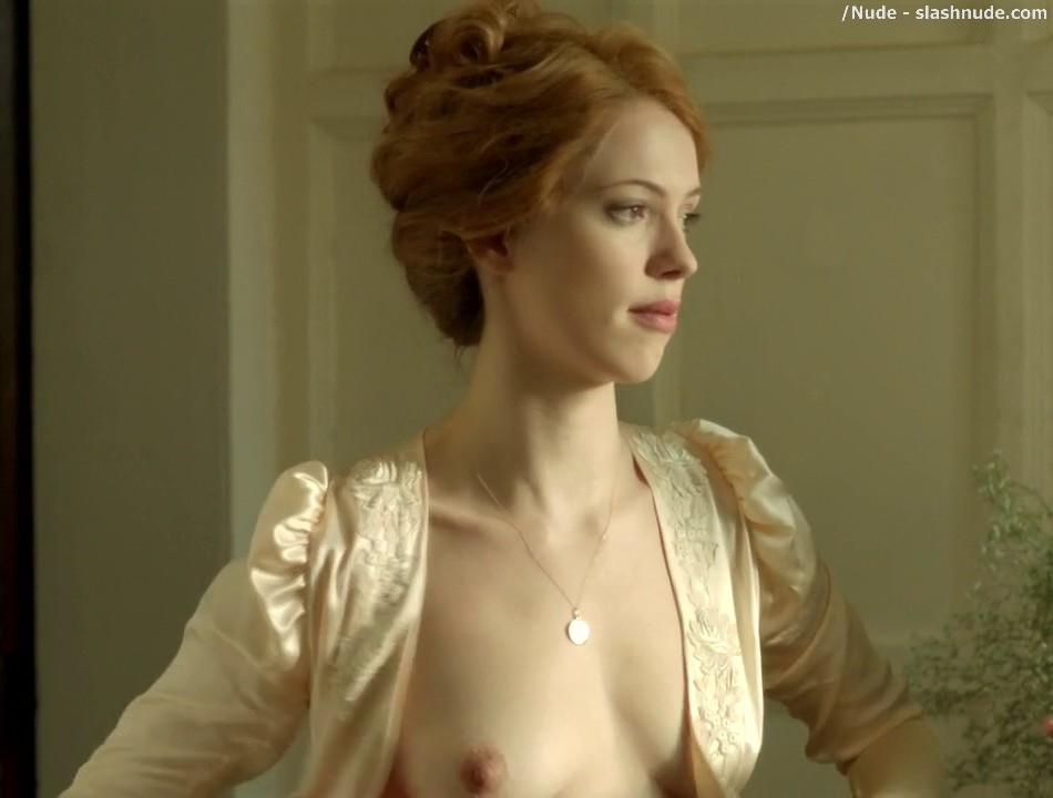 Rebecca Hall Topless For A Bath In Parade End 1