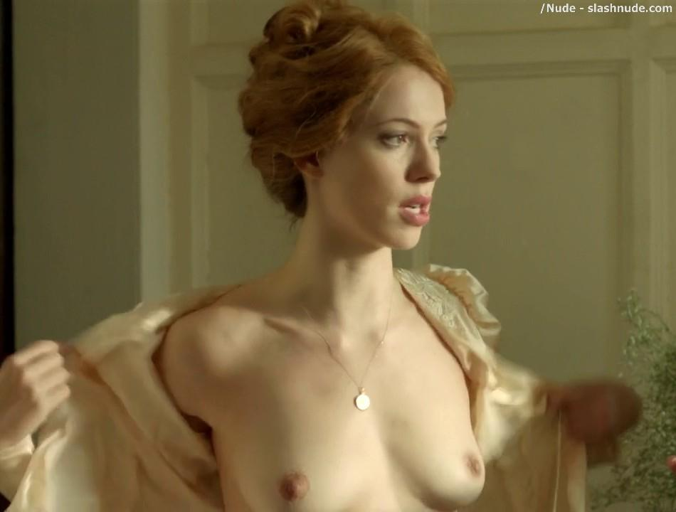Rebecca Hall Topless For A Bath In Parade End 2