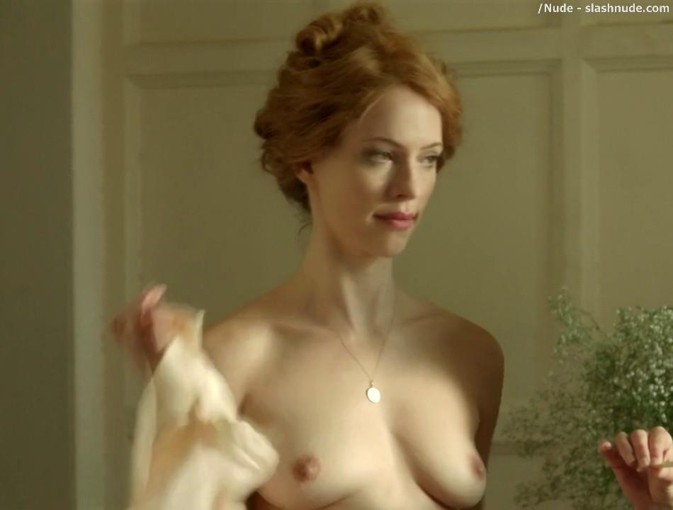 Rebecca Hall Topless For A Bath In Parade End 6