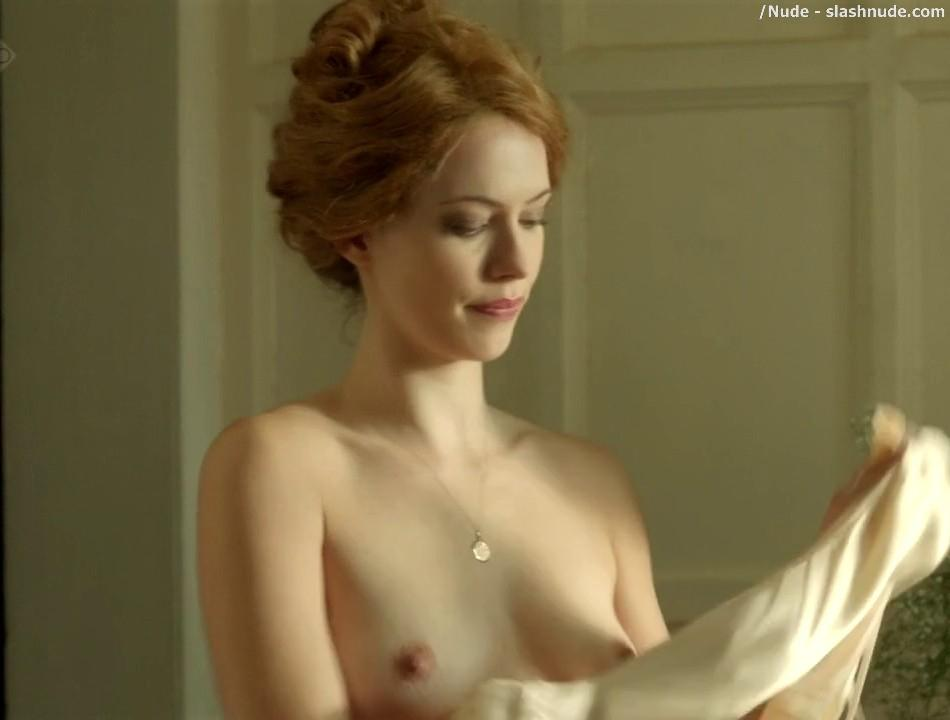 Rebecca Hall Topless For A Bath In Parade End 7