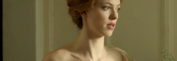 rebecca hall topless for a bath in parade end 2662
