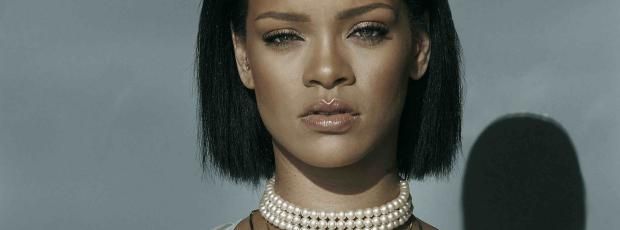 rihanna breasts bared in needed me music video 0817