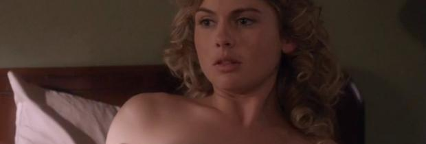 rose mciver topless for flash under covers on masters of sex 2264