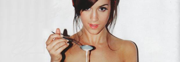 rosie jones nude to enjoy her morning cereal 9728