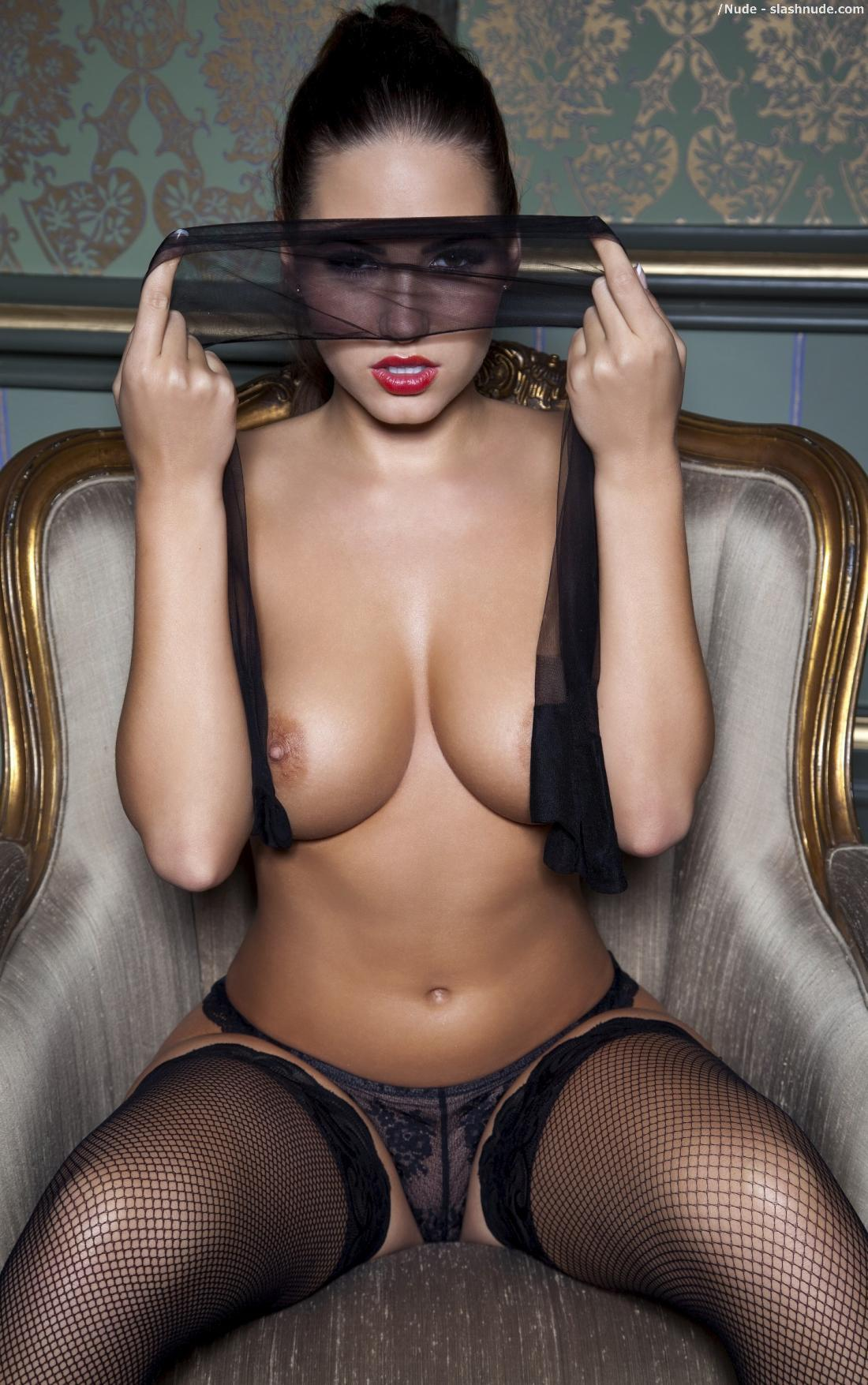 Sabine Jemeljanova Topless To Get Plastered On Our Wall 9
