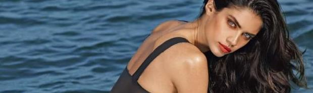 sara sampaio topless for jet ski and sand in lui 1187