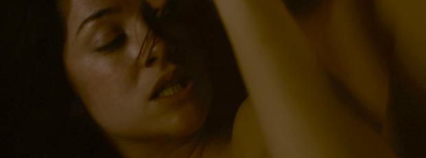sarah greene topless sex scene on penny dreadful 2780
