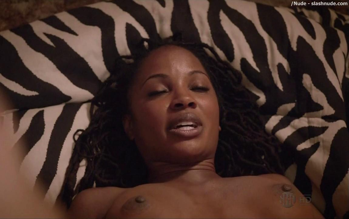 Shanola Hampton Nude In Bed For Baby Making On Shameless 14