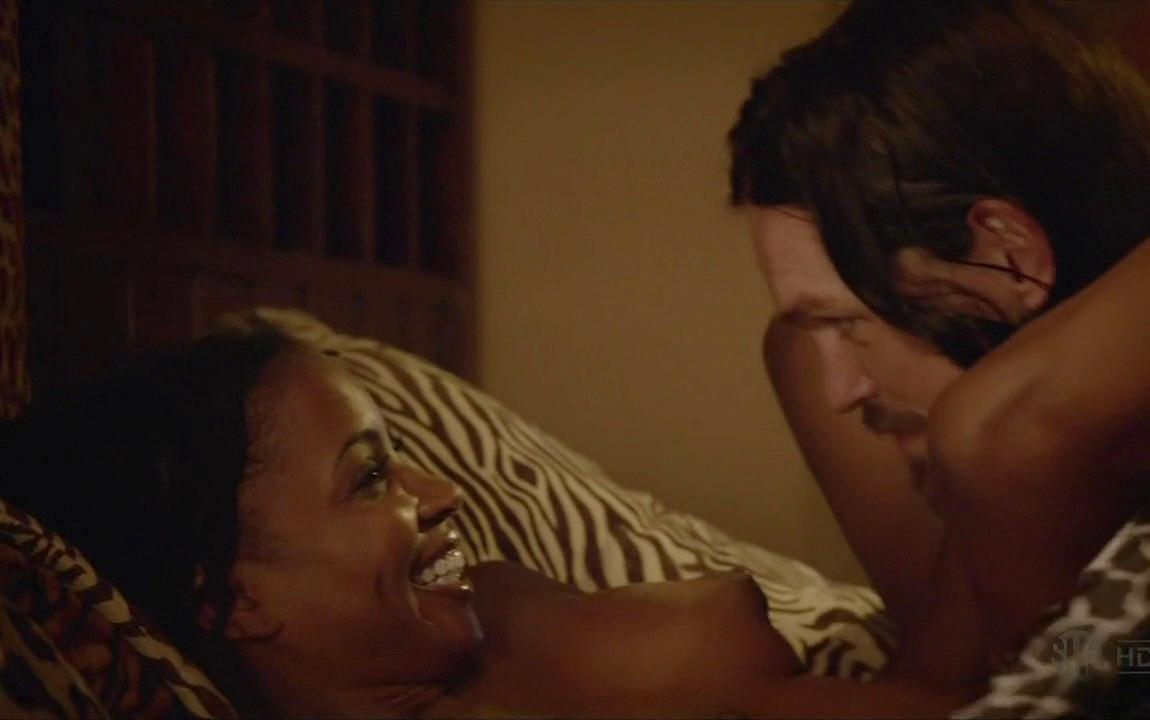 Shanola Hampton Nude In Bed For Baby Making On Shameless 18