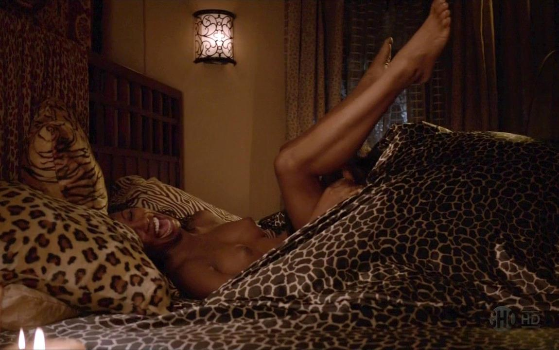 Shanola Hampton Nude In Bed For Baby Making On Shameless 21