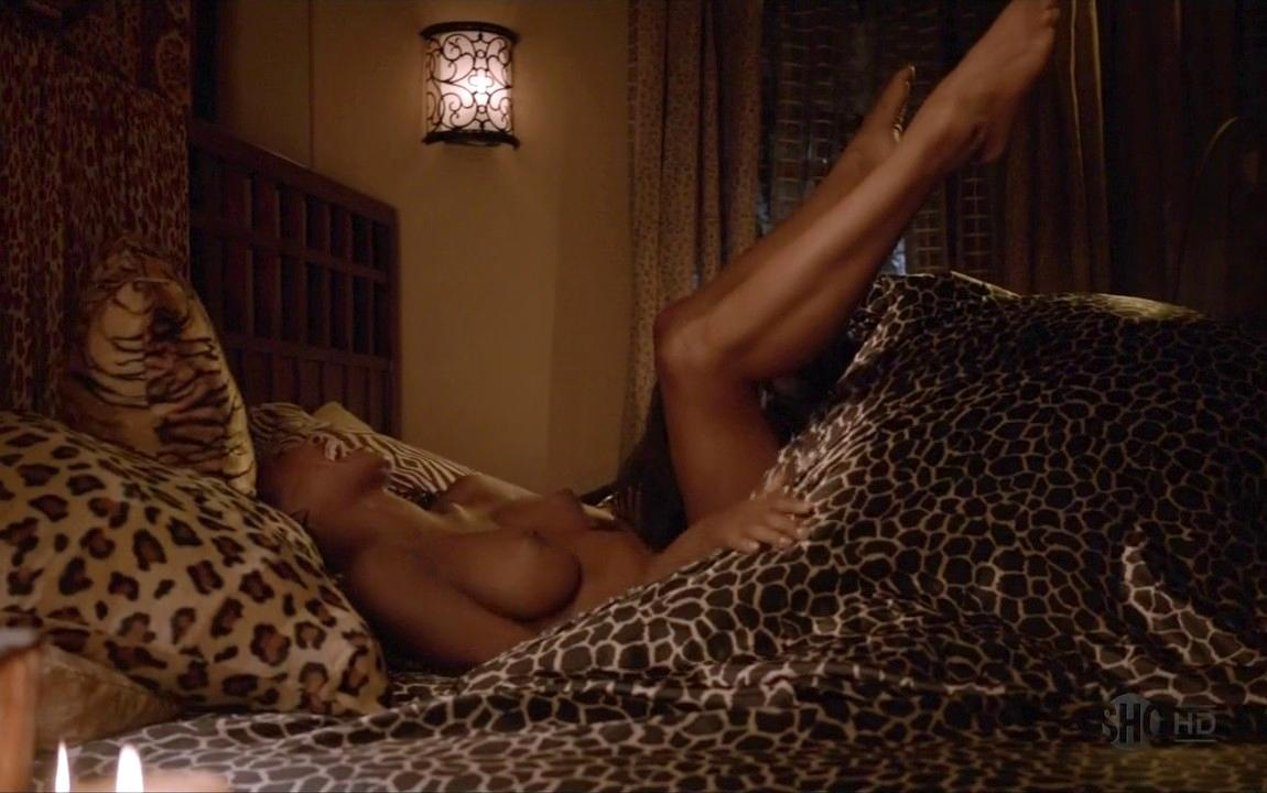 Shanola Hampton Nude In Bed For Baby Making On Shameless 22
