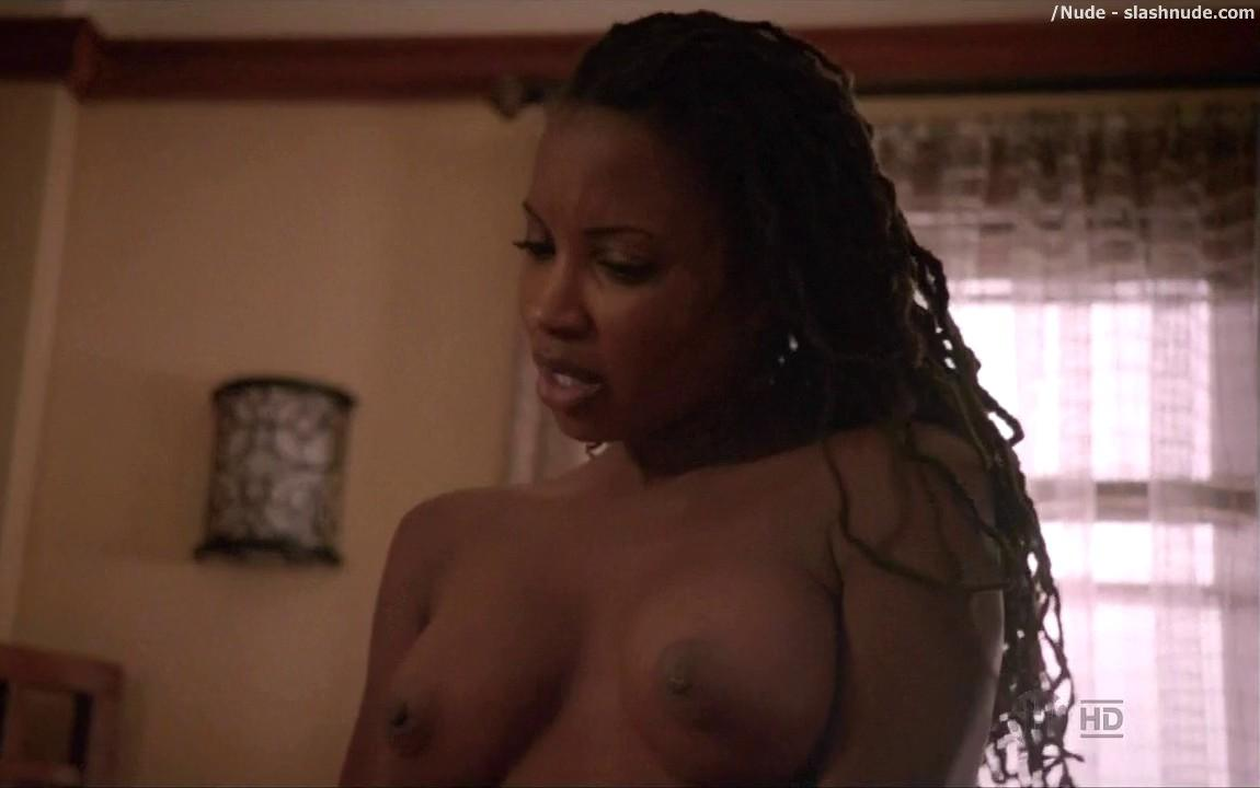 Shanola Hampton Nude In Bed For Baby Making On Shameless 6