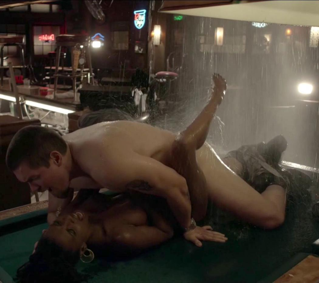 Shanola Hampton Nude Sex On Pool Table On Shameless 3