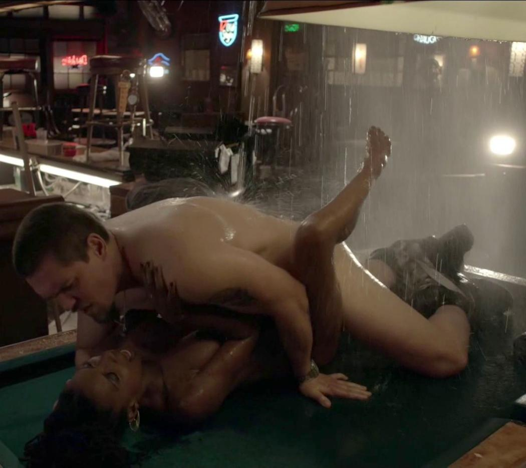 Shanola Hampton Nude Sex On Pool Table On Shameless 4